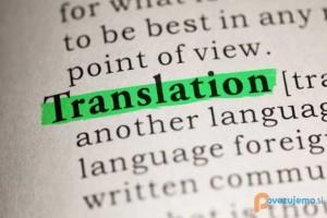 Cenovno ugodno prevajanje strokovnih besedil.