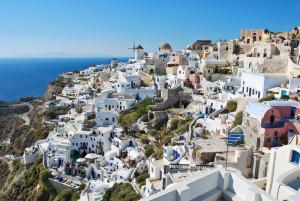 Naselje v Grčiji.