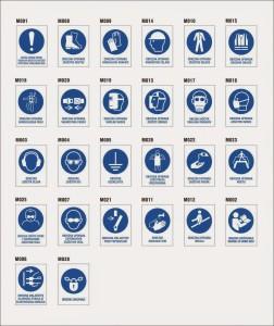 Različne oznake, katere pripomorejo k večji varnosti.