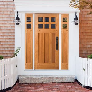 Nova vhodna vrata za hišo